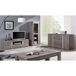 chloe design meuble tv design vaison bois pas cher achat vente meubles tv hi fi. Black Bedroom Furniture Sets. Home Design Ideas