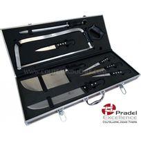 """Pradel Excellence - Valise de couteaux professionnels """"Boucher"""