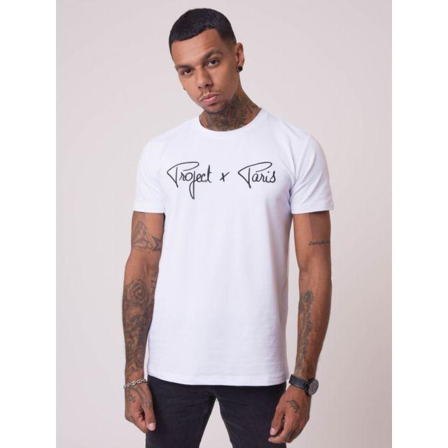 >Tee-shirt basic broderie logo Project X Paris