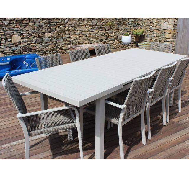 RESIDENCE - Salon de jardin CORDOBA - fauteuils cordes ...