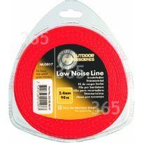 McCulloch - Accessoire cb & deb Fil nylon 2,4 mm x 90 m bruit réduit Nlo017 000577616317