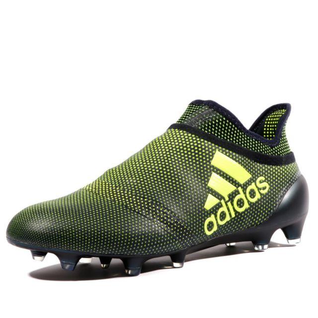 Hommes Adidas X 18,1 FG football chaussures rouge noir blanc