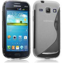 Karylax - Housse Etui Coque S-line style Translucidepour Samsung Galaxy Core + Film de Protection