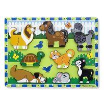 MELISSA AND DOUG - Puzzle chunky animaux
