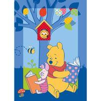 WINNIE L'OURSON - Tapis Winnie Story Bleu Tapis Enfants par Winnie
