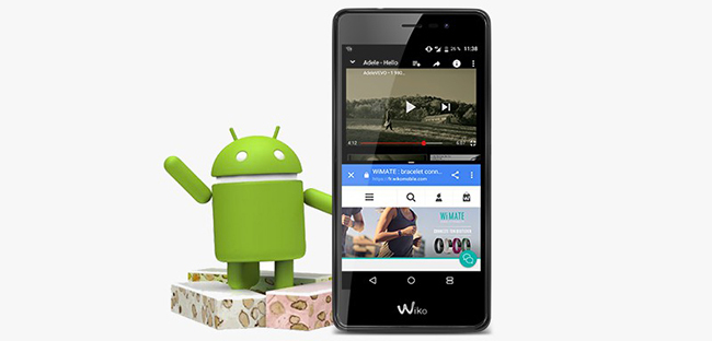 wiko tommy 2 noir pas cher achat vente smartphone android android rueducommerce. Black Bedroom Furniture Sets. Home Design Ideas