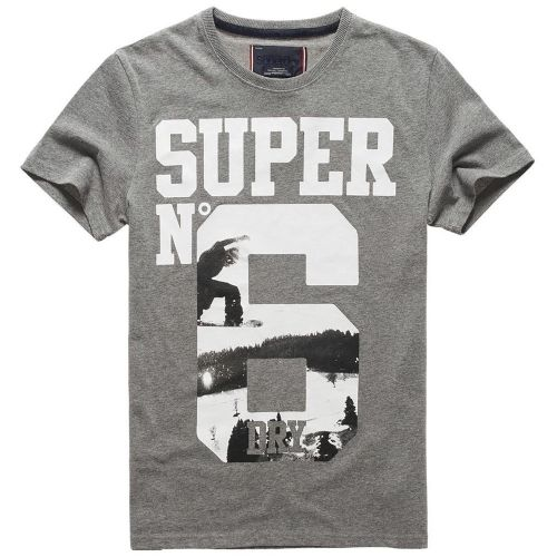 Superdry - No6 Photographic T-shirt Mc No Name - pas cher Achat ... 0149f3c3f7bb