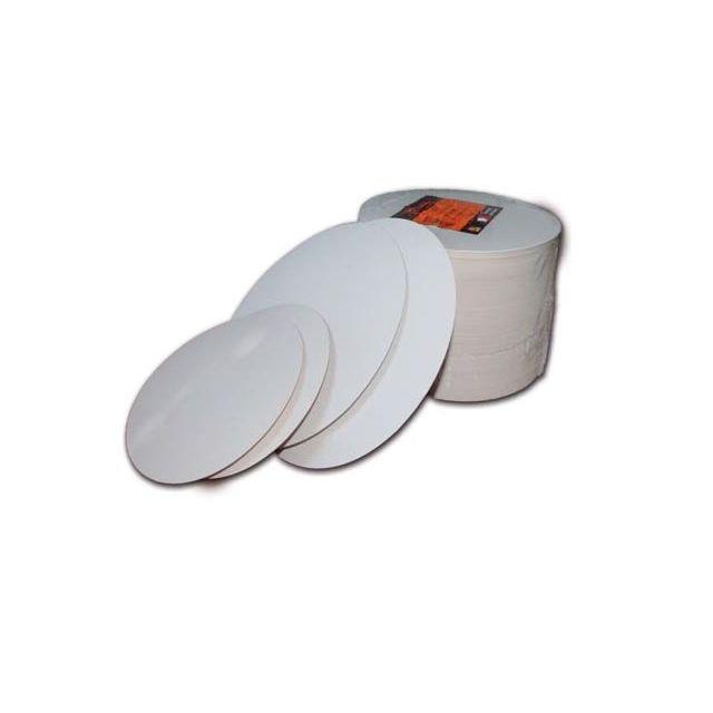 Guery Rond cartonné blanc uni 16 cm
