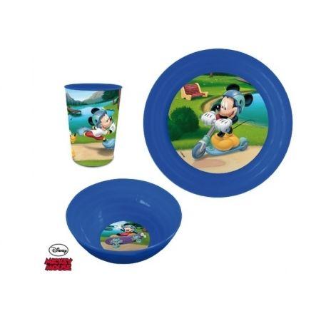 Mickey Mouse Set Déjeuner 3 pièces Pic Nique