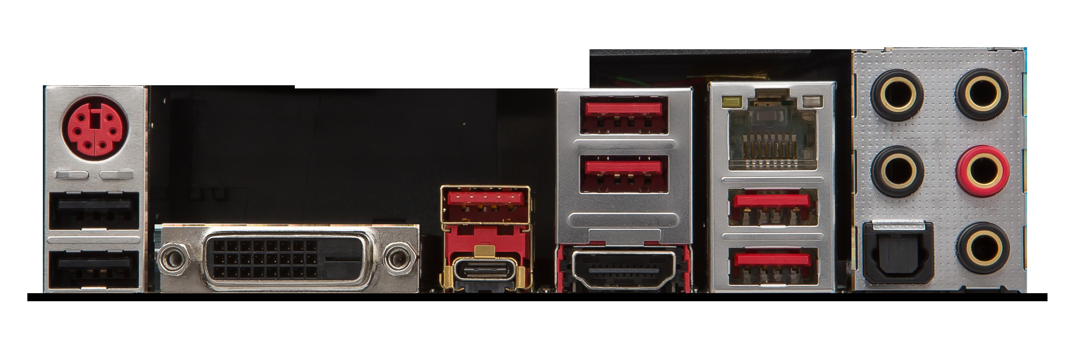 Carte mère Z270 GAMING PRO CARBON Socket 1151 - Chipset Z270 Kabylake