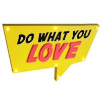 Declikdeco - Deco Lumineuse Do What You Love Lights