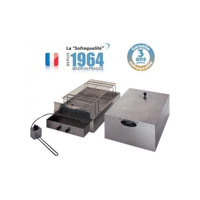 Sofraca Fumoir électrique - 2 étages - L 715 mm