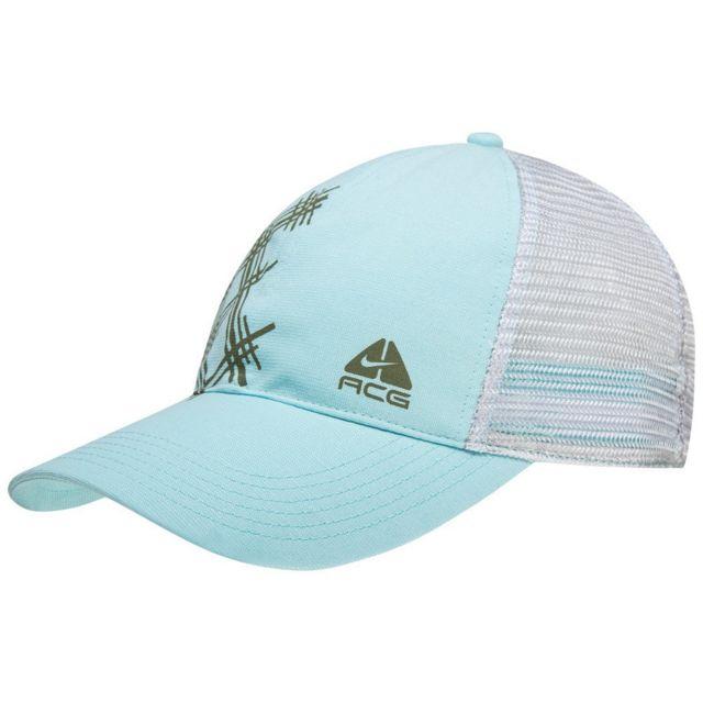 fournisseur officiel couleurs harmonieuses vente en ligne Nouvelle Casquette Homme Trucker Acg Bleu Clair