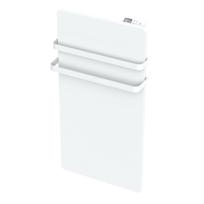 CARRERA - Sèche-serviette en verre blanc 1000W