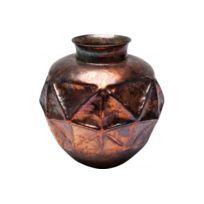 Declikdeco - Vase décoratif Oxygen Triangle cuivré