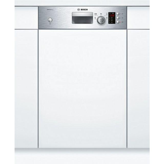 bosch lave vaisselle 45cm 9c 46db a int grable avec bandeau inox spi25cs03e achat lave. Black Bedroom Furniture Sets. Home Design Ideas