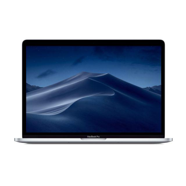 apple macbook pro 13 touch bar 512 go mr9v2fn a argent pas cher achat vente macbook. Black Bedroom Furniture Sets. Home Design Ideas