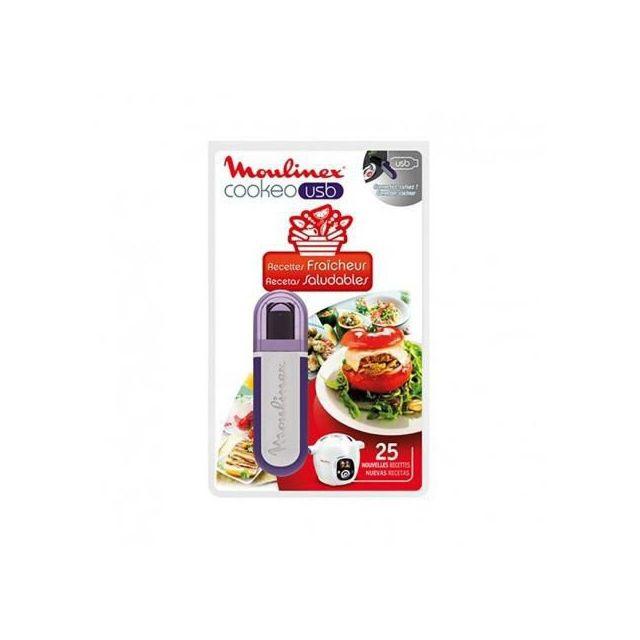 Moulinex Clé Usb Cookeo 25 recettes Fraîcheur Réf. Xa600511