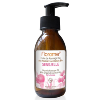 Florame - Huile de massage Sensuelle Bio - 120 ml