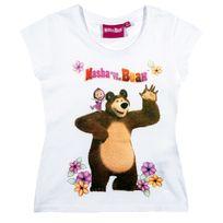 Massive Apparel - Masha et Michka Fille Tee-shirt
