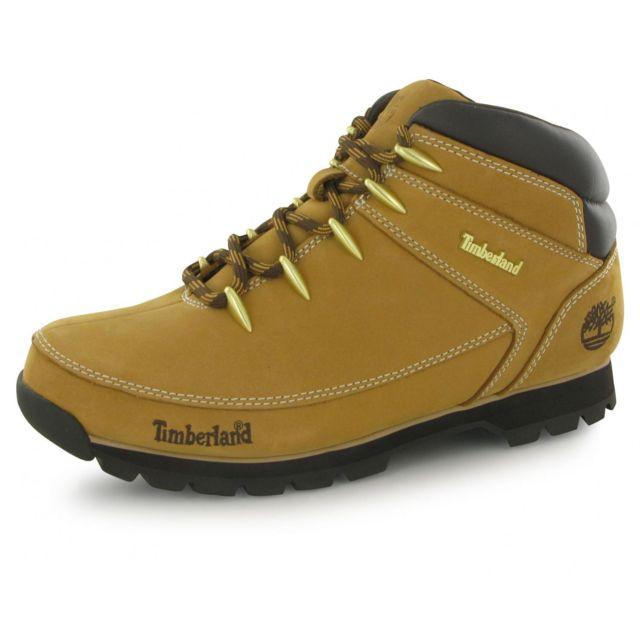 timberland euro sprint hiker homme jaune