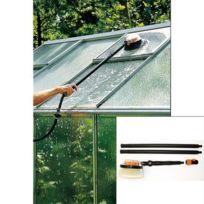 Beckmann - Balai de nettoyage rond pour tuyau d'arrosage