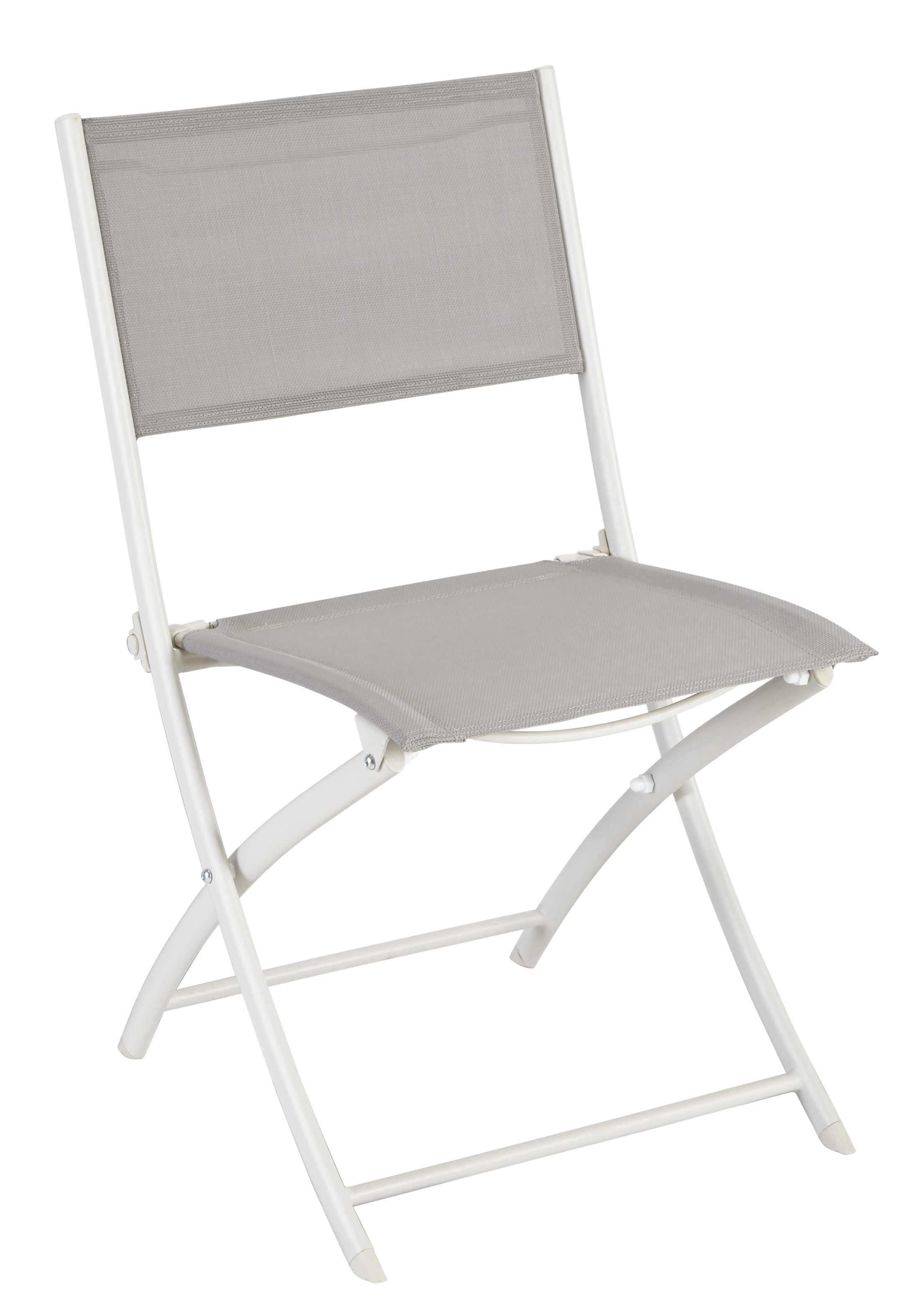 Carrefour Chaise Tello Pliante Taupe Pas Cher Achat