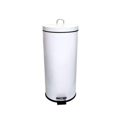 frandis poubelle 30l m tal blanc seau plastique p dale m tal pas cher achat vente. Black Bedroom Furniture Sets. Home Design Ideas