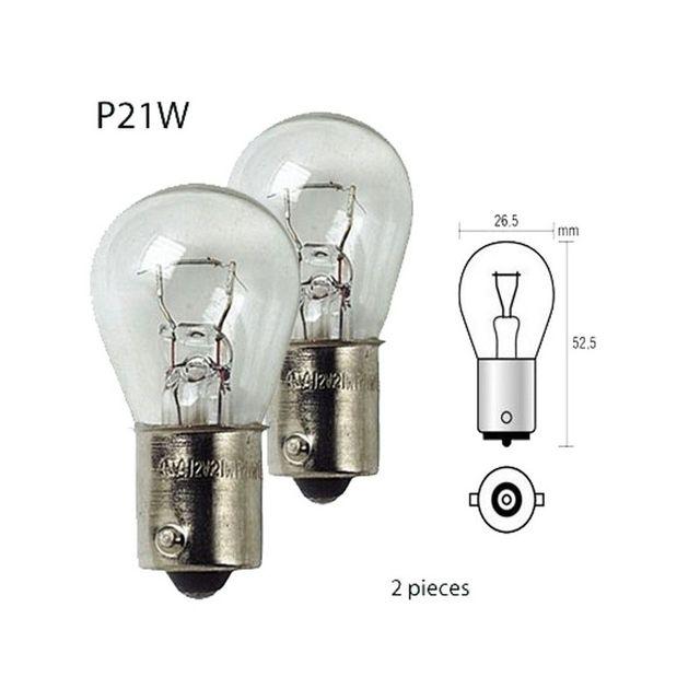 sans marque ampoule 12v 21w culot ba15s p21w ampoule. Black Bedroom Furniture Sets. Home Design Ideas