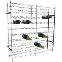 Chaubeyre - Casier à bouteilles 100 emplacements Vert