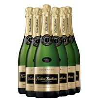 Champagne Nicolas Feuillatte - Blanc de Blancs lot 6 Bouteilles