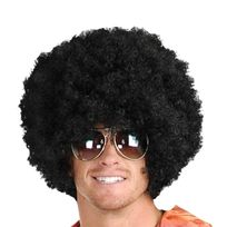 Totalcadeau - Perruque afro frisée noir