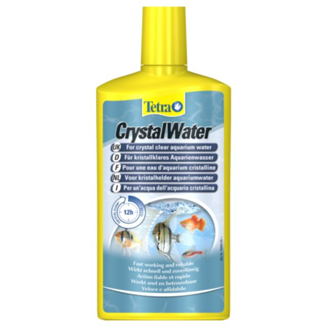 Tetra Traitement d'Eau CrystalWater pour Aquarium 500ml