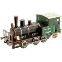 Siva - 70010-3D-MODELLBAUSATZ Dampflokomotive Tigerli E 3/3