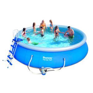 Best way piscine autoportante fast set 549x122 cm for Filtro piscina carrefour