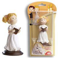 Dekora - Décoration - Figurine Communion Fille