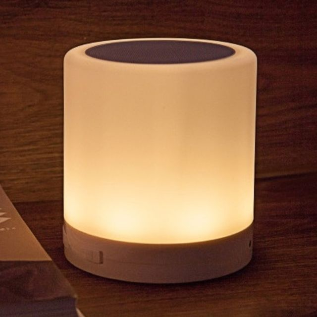 Wewoo Veilleuse 388 Atmosphere Lumiere Musique Table Lampe