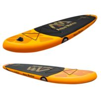 Stand Up Paddle gonflable FUSION avec pompe haute pression, pagaie et sac de rangement