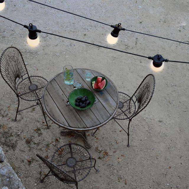 BLACHERE ILLUMINATION - Blachere guirlande LED guinguette 7.5m blanc chaud