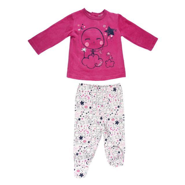 e0e7536d571f1 Petit Beguin - Pyjama bébé fille Poetic Moon - Taille - 36 mois 98 cm  Multicolore - pas cher Achat / Vente Ensembles - RueDuCommerce