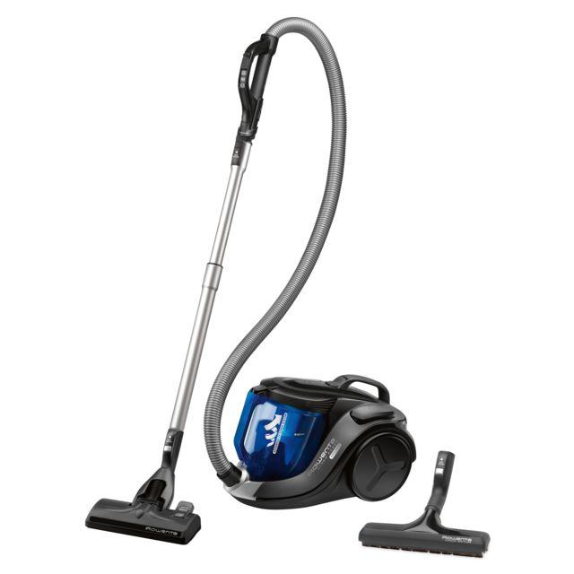 ROWENTA Aspirateur sans sac X-trem Power cyclonic - RO6951EA - Noir/Bleu