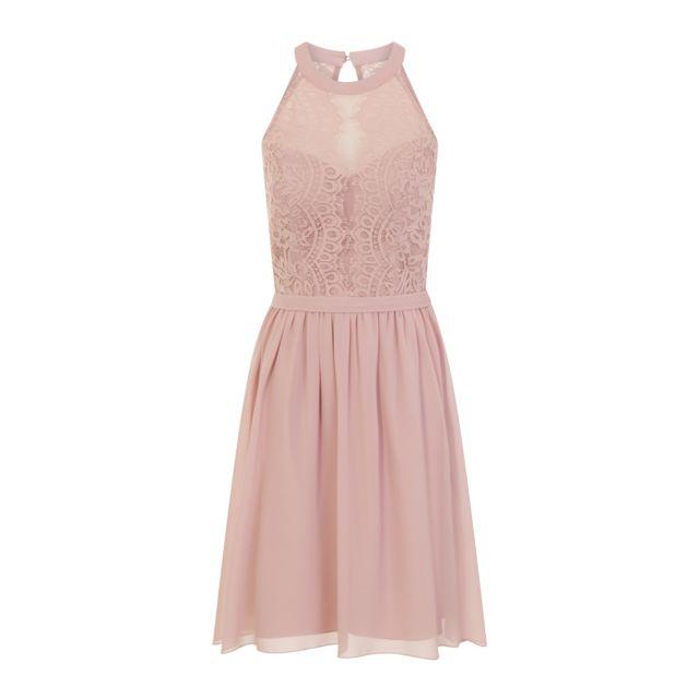 48ff44e8329 Generic - Little Mistress - Robe de bal de promo avec corsage en dentelle -  Femme FR 42