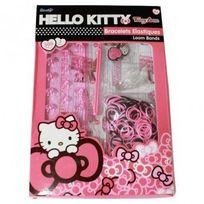 Hello Kitty - Kit Bracelet : Elastiques et Métier à Tisser