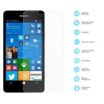 Cabling - Microsoft Lumia 950 Xl - Protection Ecran en Verre Trempé Premium Anti Chocs et Casse, Anti Empreintes Digitales et Gras, Bords Arrondis, Dureté Max 9H, Haute Définition 99%, pour Microsoft Lumia 950 Xl Transparent