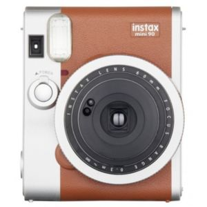FUJI - Fujifilm Instax Mini 90 marron Neo Classic Appareil ... 92876fa64204