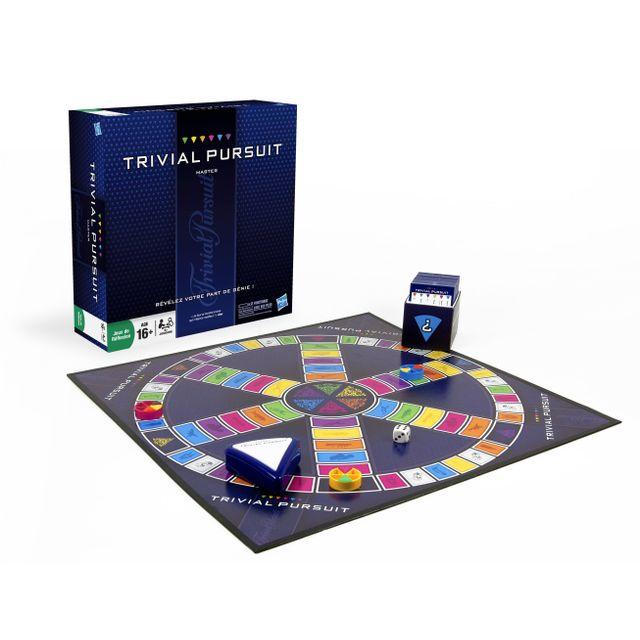 HASBRO Jeu de société - Trivial Poursuit Master - 167621010 La version actualisée de Trivial Pursuit Genus, pour les fans du célèbre jeu de questions-réponses !