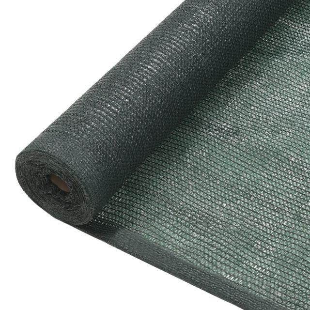 Vidaxl Filet brise-vue Pehd 1,5 x 10 m Vert