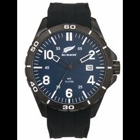 All Blacks - Montre Homme Silicone Noir 680367 Sport - 100 Mètres