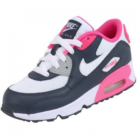 wholesale dealer 6022e 9ffdc Nike - Chaussures Air Max 90 Blanc Fille - pas cher Achat   Vente Baskets  homme - RueDuCommerce