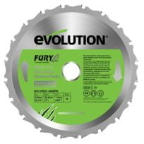 Evolution - Lame multi-usages Fury 210mm